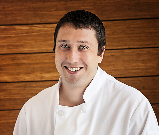 Host Chef Jacob Strang
