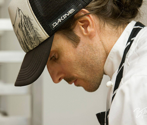 Pastry Chef Jason Lemon