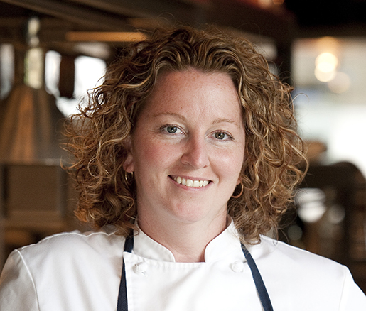 Host Chef Mary Dumont