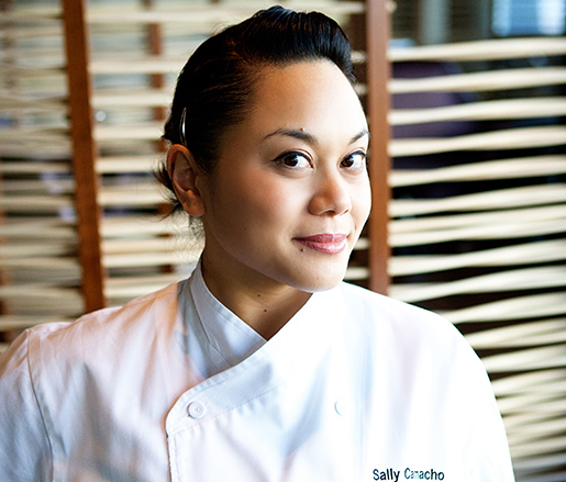 Pastry Chef Sally Camacho Mueller