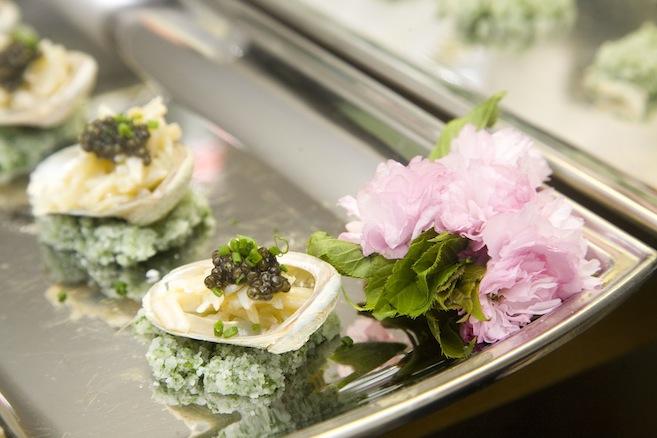 Abalone with Osetra Caviar