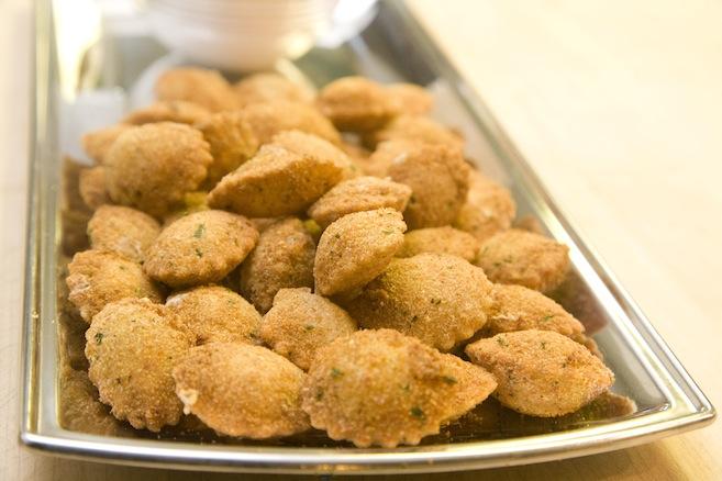 Fried Fonduta-Truffle Raviolini