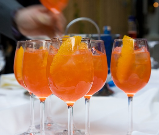 Blame it on the Aperol > Aperol with Gin and Lemon