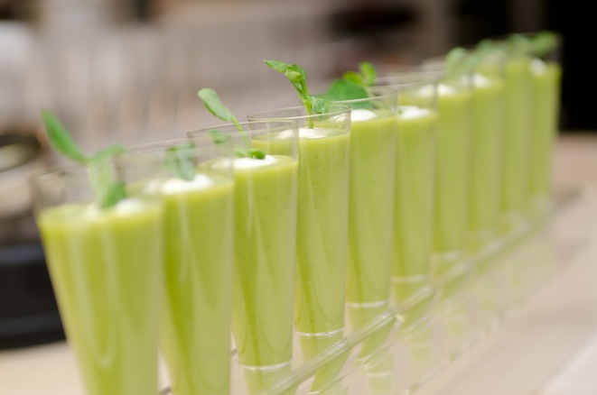English Pea Shooters with Chantilly