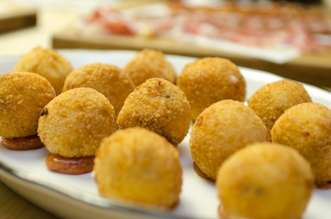 Ibérico Ham Croquettes with Preserved Quince