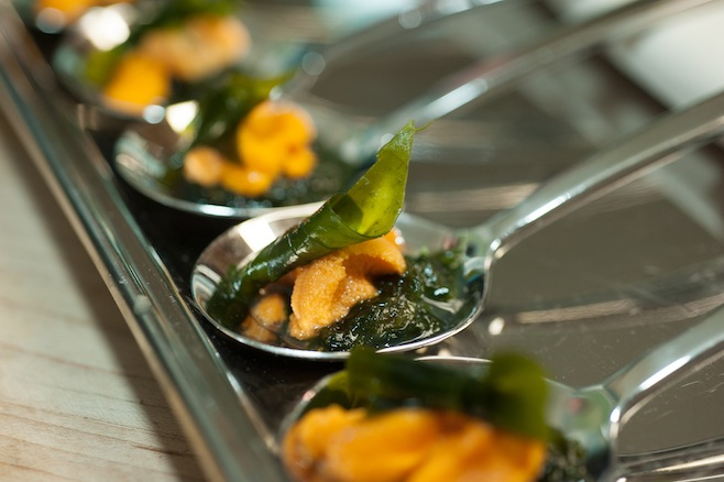 Uni with Seaweed
