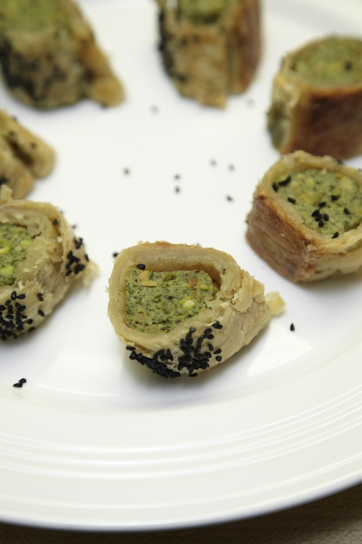 Chicken Pastels with Nigella Seeds