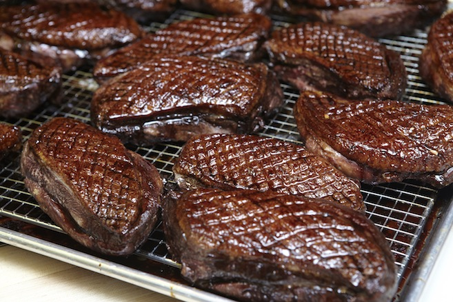 Saba-Glazed Duck Breast