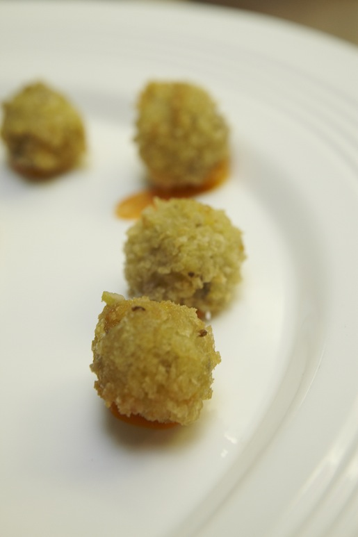 Spring Vegetable Croquettes with Pimentón Aïoli