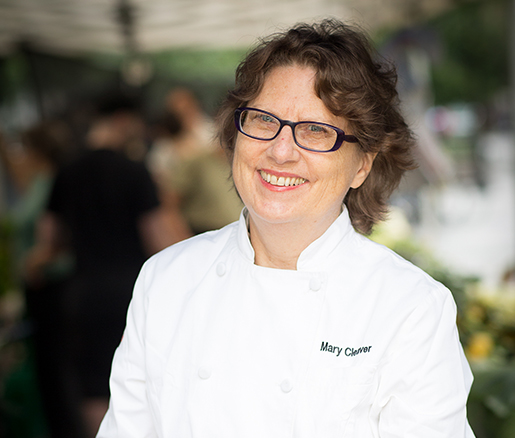 Host Chef Mary Cleaver (Photo by Laurie Rhodes)