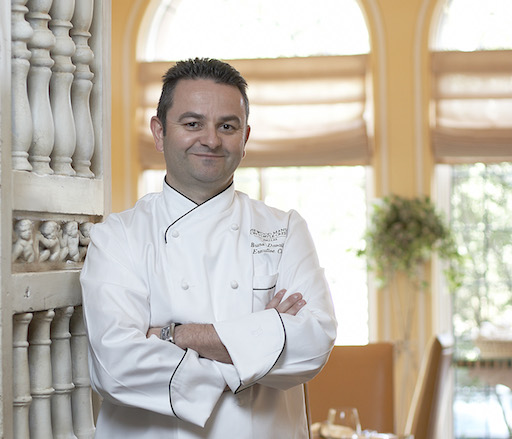 Host Chef Bruno Davaillon