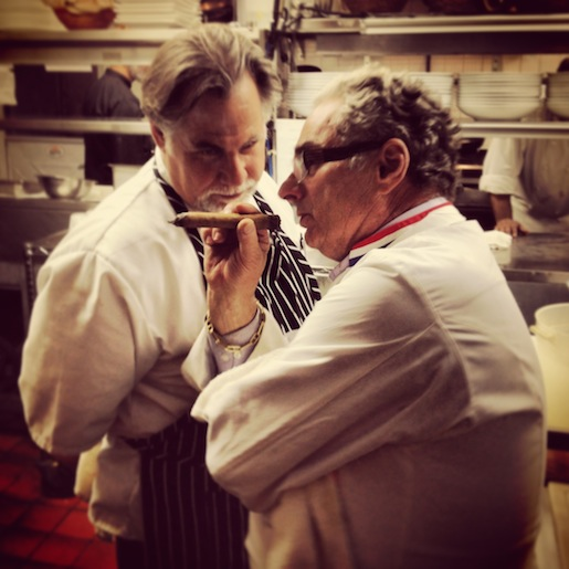 Host Chef Al Paris and Georges Perrier