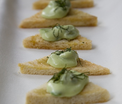 Fava Bean Toasts