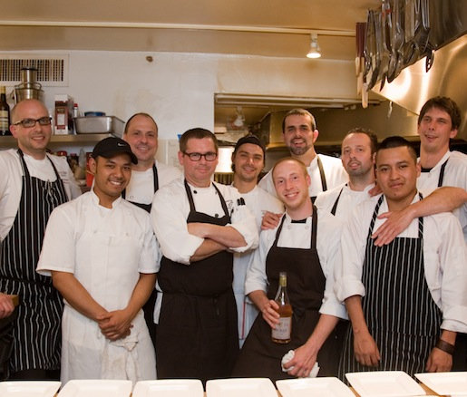 Adam Longworth, Ron Paprocki and their team at the Beard House