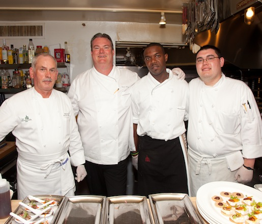 Sean O'Connell and his team at the Beard House