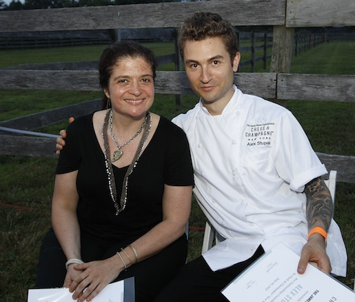 James Beard Award Winner Alex Guarnaschelli (Butter, The Darby) and Alex Stupak (Empellon Cocina, Empellon Taqueria)