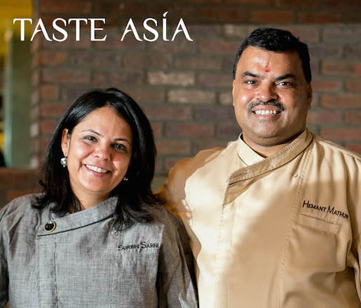 Hemant Mathur and Pastry Chef Surbhi Sahni