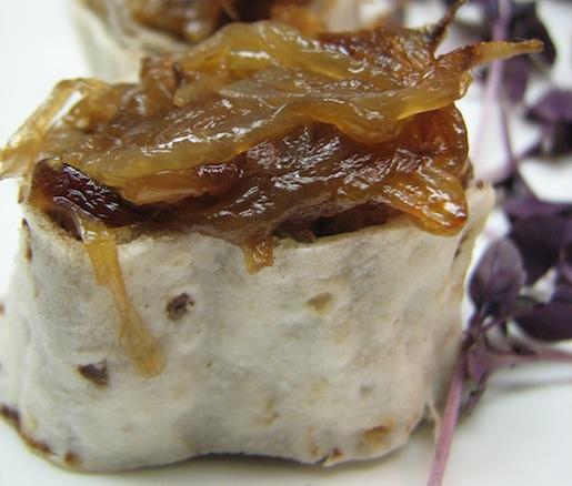 Jegar va Piaz Sorkh Kardeh > Liver with Caramelized Onions