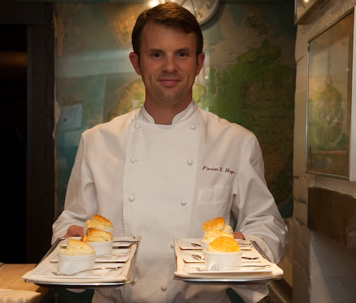 Florian Hugo at the James Beard House
