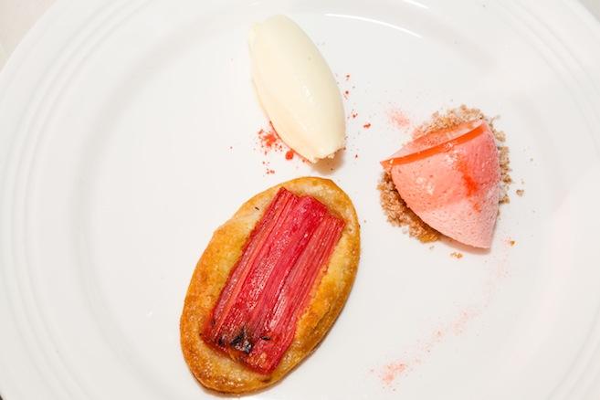 Rhubarb Tartlet