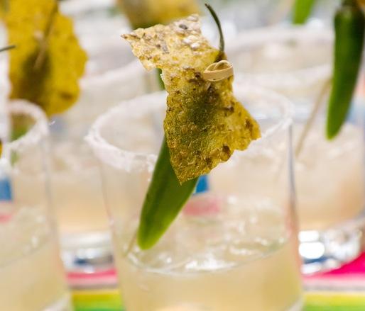 Chalchihuitl-Infused Poblano Patrón Silver Margaritas