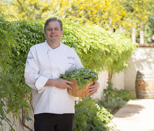 Host Chef Michael Cairns