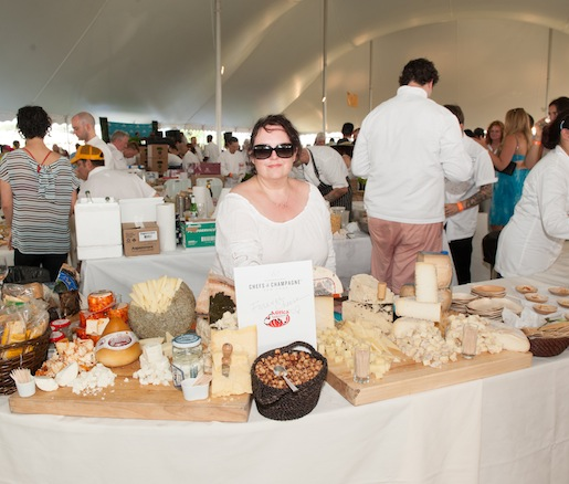 Event Sponsor Mitica with Products From Forever Cheese
