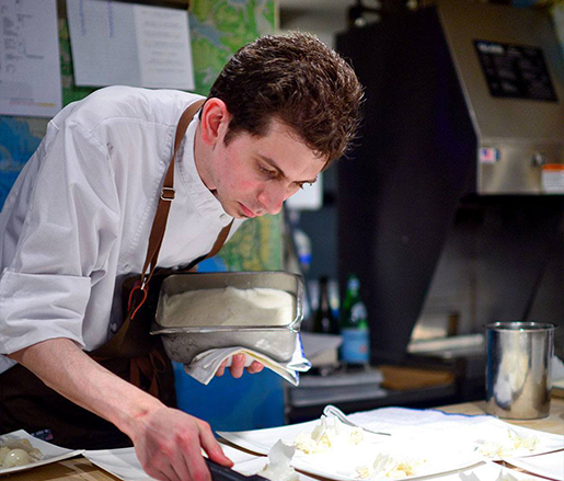 Pastry Chef Nick Wesemann
