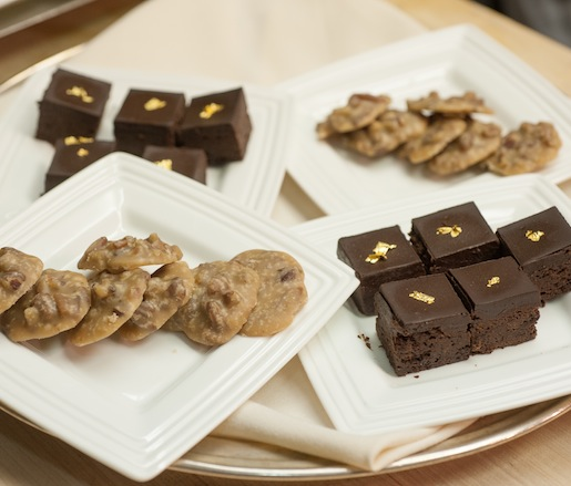 Mignardises > Bacon Praline–Bourbon Brownies