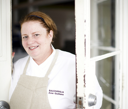 Guest Chef JBF Award Winner Anne Quatrano
