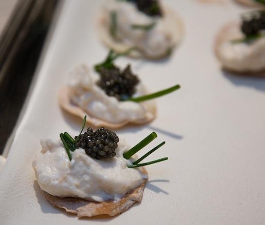 Taramasalata with Caviar and Lavash