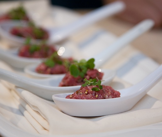 Lamb Tartare with Lovage and Grains of Paradise