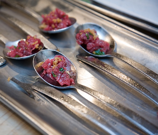 Gunpowder Bison Tartare