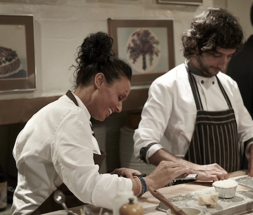 Najat Kaanache at the Beard House