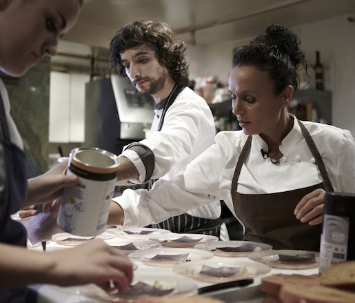 Najat Kaanache Plating Her Sensory Bill of Rights at the Beard House