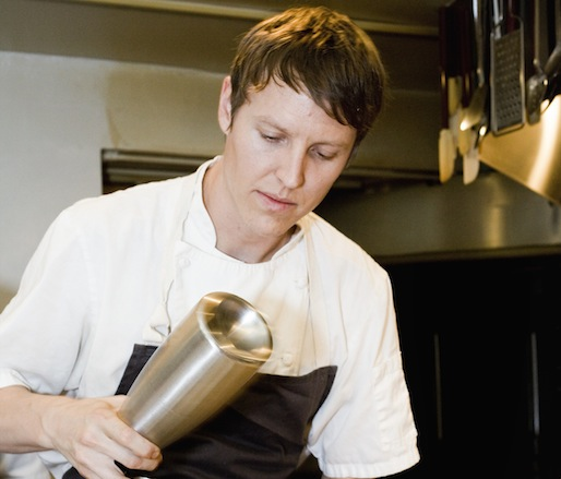 Owen Clark Preparing Ocean Trout Tartare
