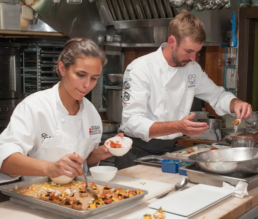 Behind the scenes at the James Beard House kitchen