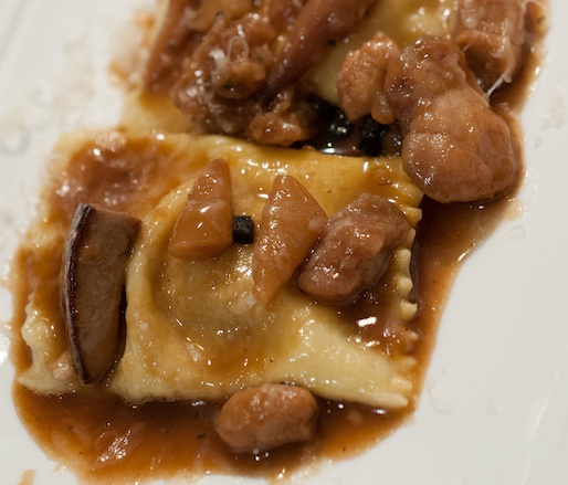 Roasted Devil's Gulch Rabbit–Filled Agnolotti with Courtyard Ragù