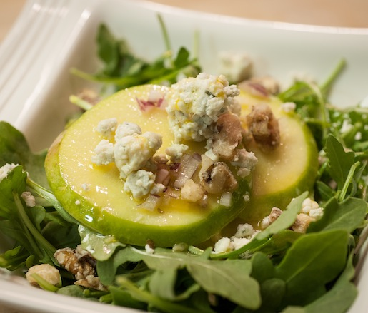 Honeyed Walnut–Apple Salad with Lemon Vinaigrette