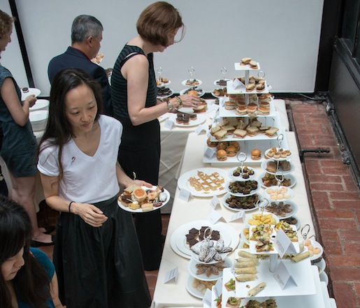 Boston Tea Party spread at the James Beard House