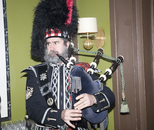 Burns Night festivities at the Beard House