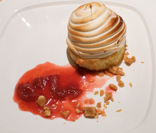 Peanut Butter and Jelly Baked Alaska