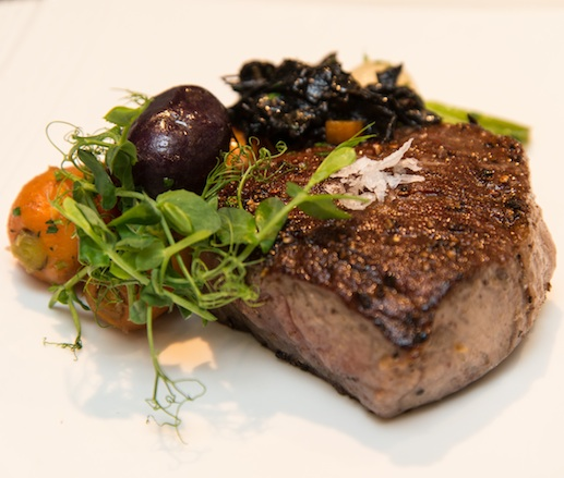 7X Colorado Beef with Winter Root Vegetables and Wild Mushrooms