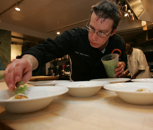 Adam Goetz at the James Beard House