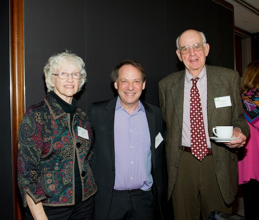Tanya Berry, journalist Adam Gopnik, and JBF Leadership Award winner Wendell Berry