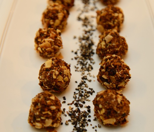 Foie Gras Bonbons with Black Pepper