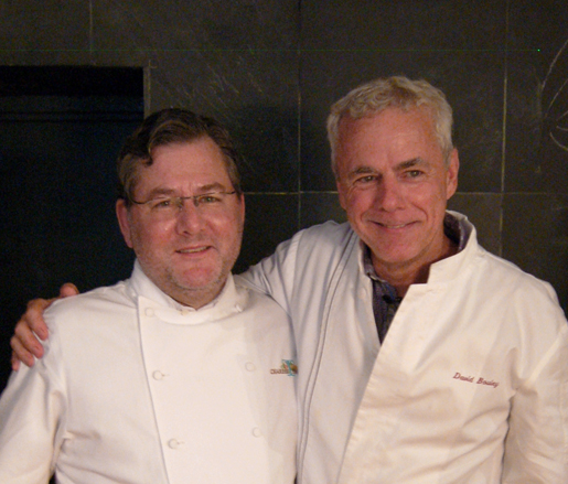 Charlie Trotter and David Bouley