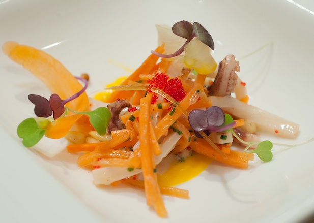 Carrot and Calamari Salad
