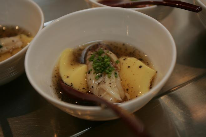 Golden Crab Chawanmushi with Truffle Ankake