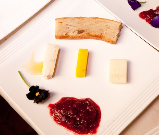 Assorted Italian Cheeses with Honey and Housemade Marmalade